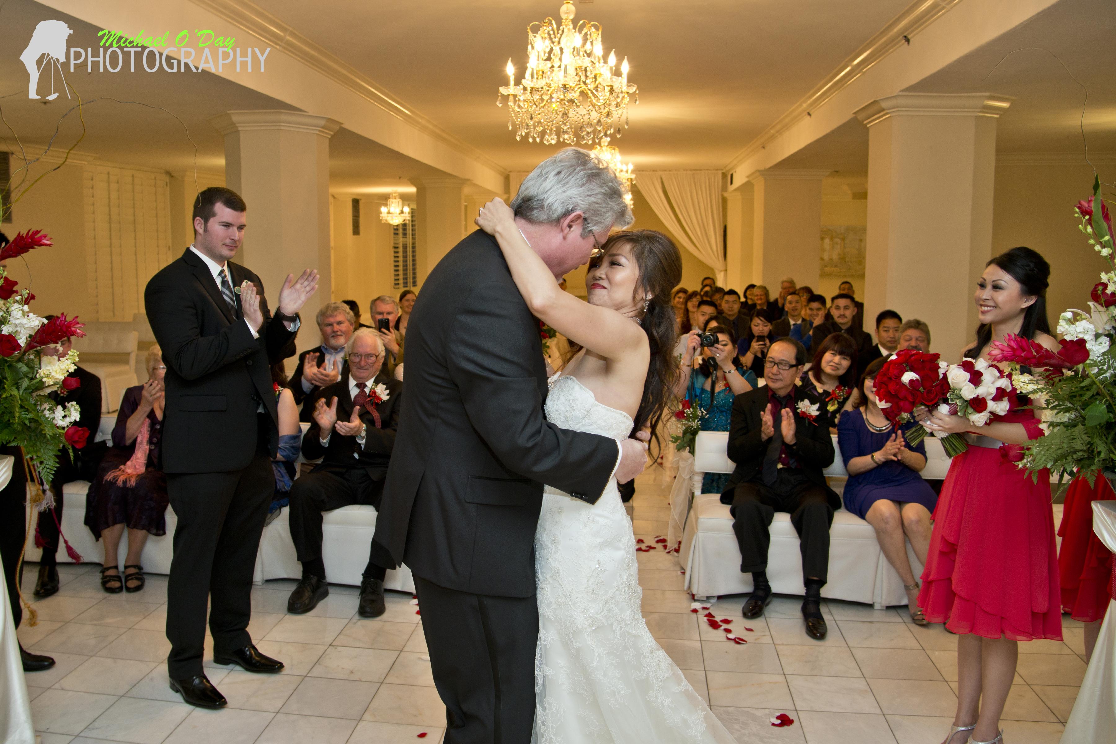 Grace & Christopher Wedding // Long Beach // The Sky Room ...